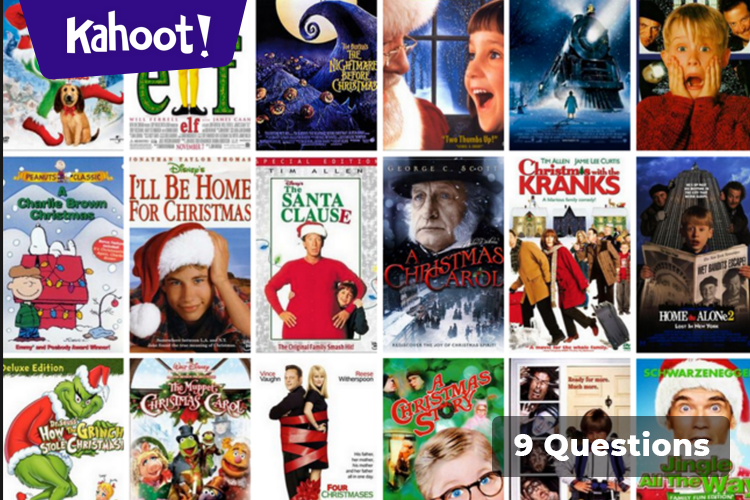 Play Kahoot Christmas Movie Puzzle